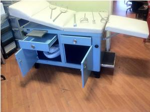 Index Vintage Steel Office Furniture Double Pedestall